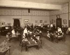 Student_teachers_Kindergarten_1898