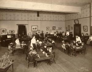 Student_teachers_Kindergarten_1898