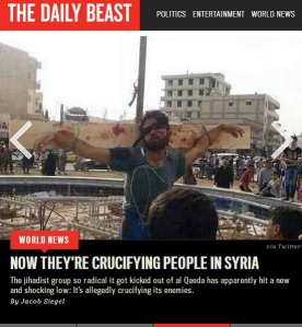 Crucifying in Syria