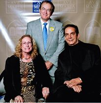 Ray Netherwood and spouse, Shelley, with Charles Krauthammer